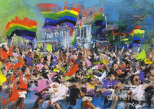 Gay Parade by Neil McBride