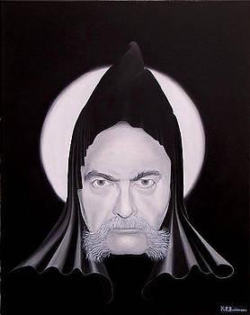 Gaze of sorcery  by Kenneth-Edward Swinscoe