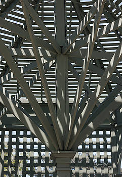 Gazebo Abstract by Suzanne Gaff