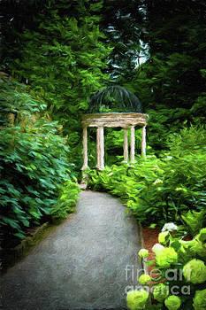 Gazebo at Longwood Gardens, Kennett Square, Pennsylvania, USA by Amy Cicconi