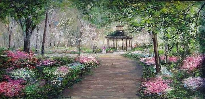 Gazebo Garden by Charles Roy Smith