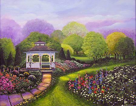 Gazebo Park by Bonnie Cook