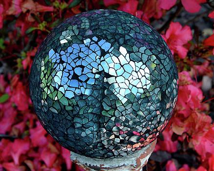 Gazing Ball by Sue Houston