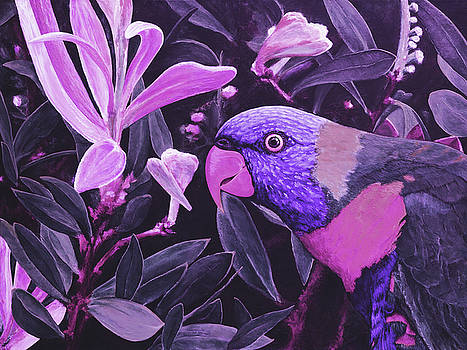 G'day Mate - Violet by Julie Turner