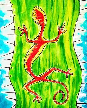 Gecko by Stefanie Silva