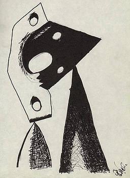 Gef - Picasso II by Geoffroy Dextraze