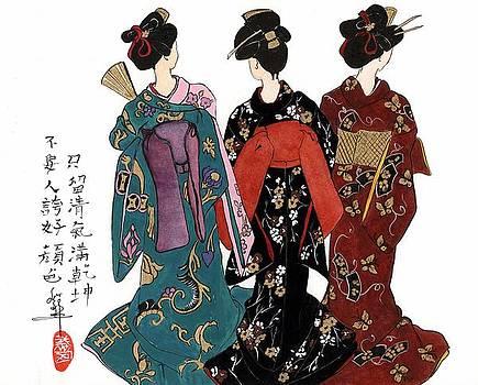 LINDA SMITH - Geisha - Back View