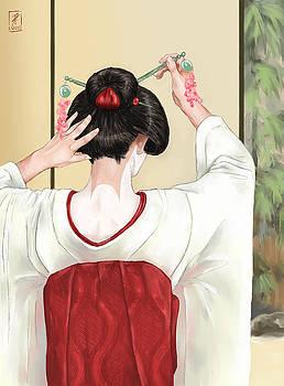 Geisha by Brandy Woods