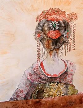 Geisha by Ciocan Tudor-cosmin