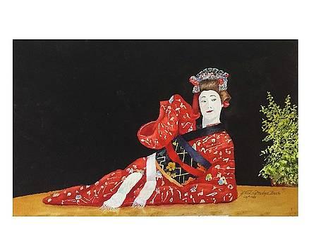 Geisha at Wellesly by Harding Bush