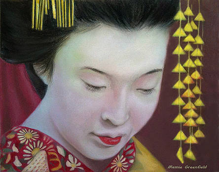 Geisha by Mamie Greenfield