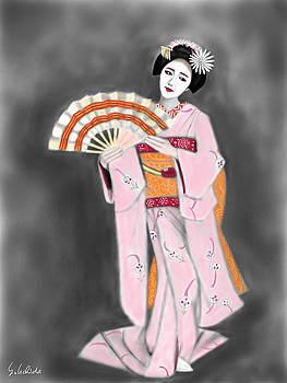 Geisha No.188 by Yoshiyuki Uchida