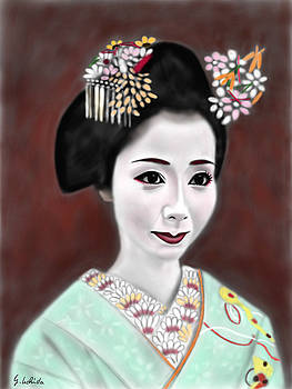 Geisha No.196 by Yoshiyuki Uchida