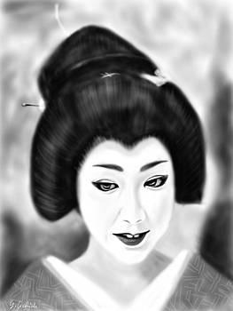 Geisha No.203 by Yoshiyuki Uchida