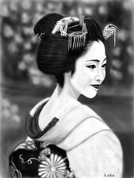 Geisha No.205 by Yoshiyuki Uchida