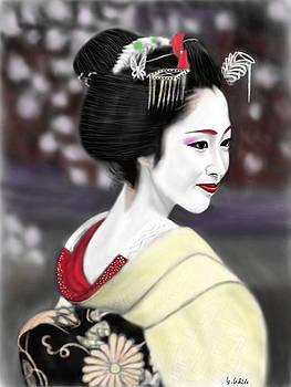 Geisha No.206 by Yoshiyuki Uchida