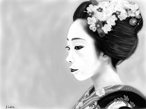Geisha No.209 by Yoshiyuki Uchida
