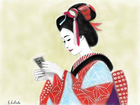 Geisha No.218 by Yoshiyuki Uchida