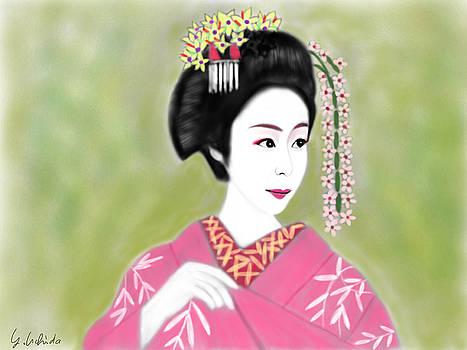 Geisha No.222 by Yoshiyuki Uchida