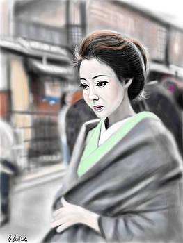 Geisha No.72 by Yoshiyuki Uchida