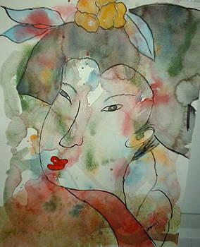 Geisha by Sandra Woods