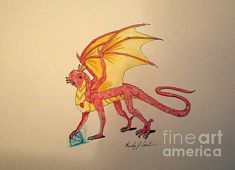 Gem Hunter Dragon by Wendy Coulson