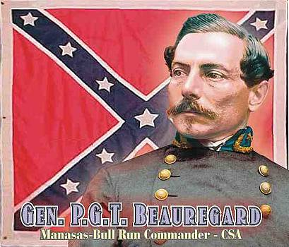 Gen. P.G.T. Beauregard by Harry West