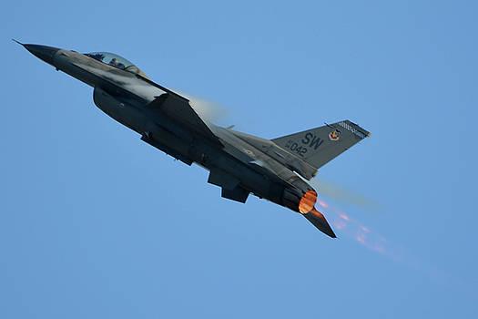 General Dynamics F-16C Viper 94-0042 Chino California April 29 2016 by Brian Lockett