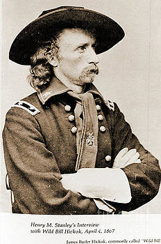 General George custer by Gary Wonning