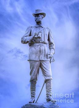 General John Buford Gettysburg Battlefield by Randy Steele