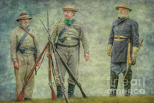 General Lee Reviews the Troops by Randy Steele