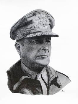General MacArthur by Charles Vogan