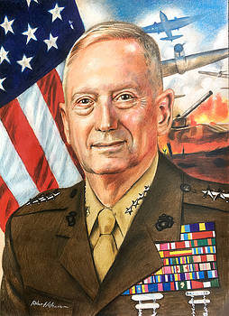 General Mattis Portrait by Robert Korhonen