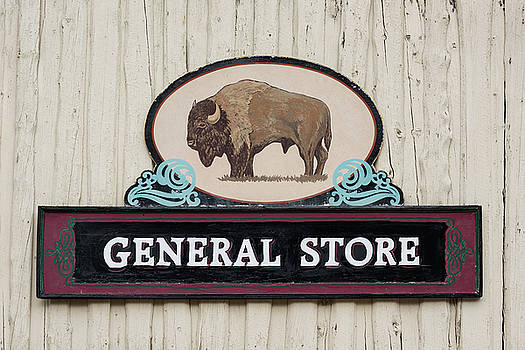 General Store Sign by Steve Gadomski