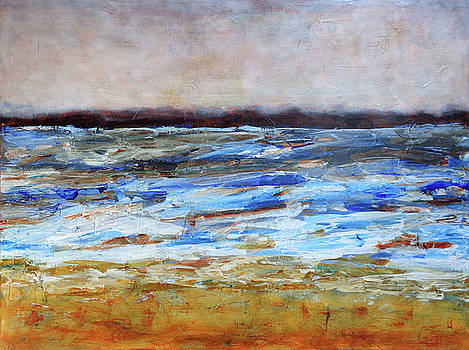 Generations Abstract Landscape by Karla Beatty