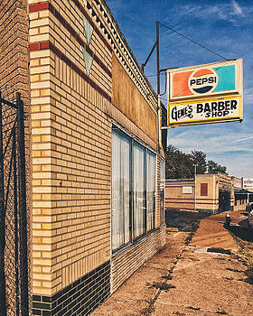 Gene's Barber Shop - The Hill - St. Louis by Dylan Murphy