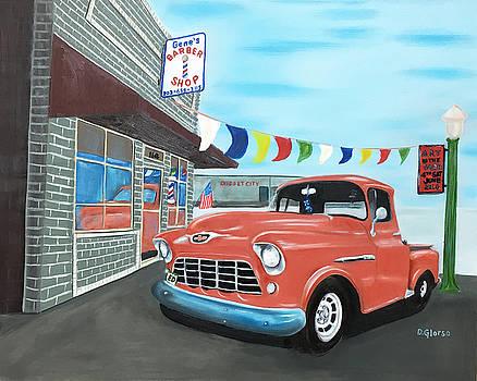 Gene's Barbershop by Dean Glorso