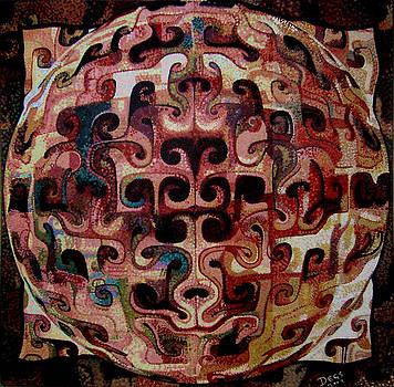 Genesis Of Science-art by Chris Degenhardt
