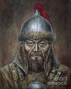 Genhis Khan by Arturas Slapsys