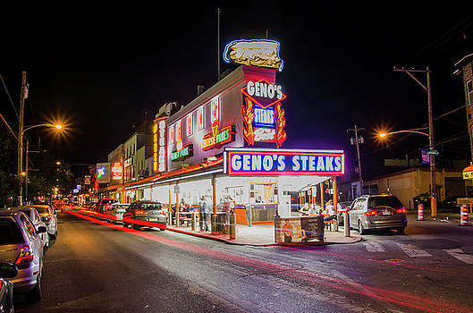 Genos Steaks - South Philly by Bill Cannon