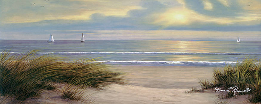 Gentle Breeze Panoramic by Diane Romanello