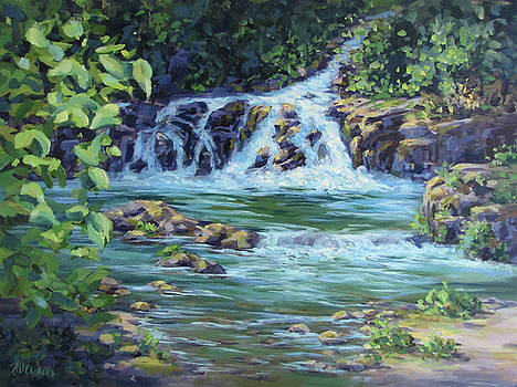 Gentle Falls by Karen Ilari