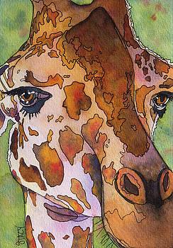 Gentle Giraffe by Stacy Egan