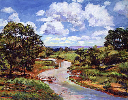 Gentle River by David Lloyd Glover