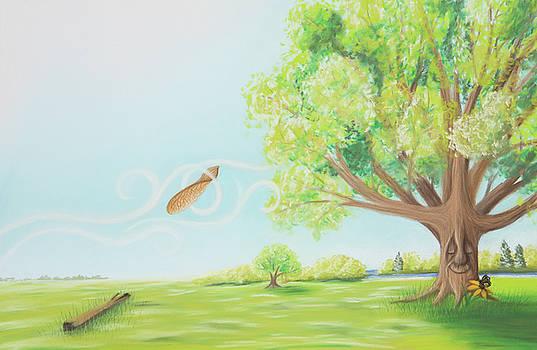 The Sapling - Gentle Summer Breeze by Emily MacDonald