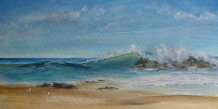 Gentle Wave by Rita Palm