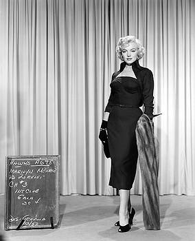 GENTLEMEN PREFER BLONDES staring Marilyn Monroe by R Muirhead Art