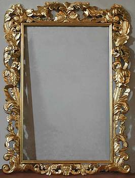 Genuine Hand Carved Frames With Godl Leaf For Your Oil Painting by Art Trouve