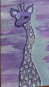Jordon the Giraffe by Cindy Large