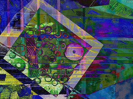 Geometric Abstract by Grant Marchand